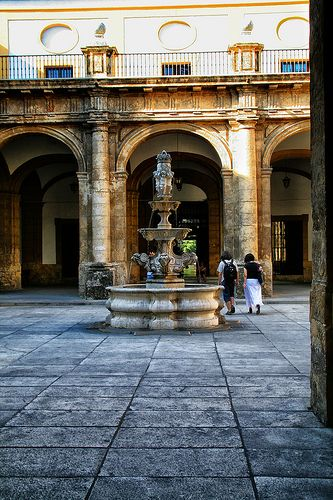 Real Fabrica de Tabaco, Fuente ( Sevilla ) | La Real Fábrica… | Flickr