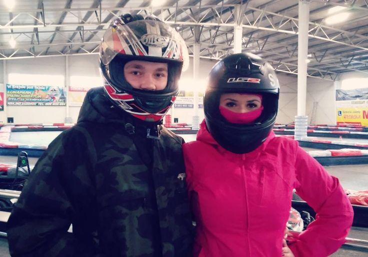 いいね!86件、コメント2件 ― Sylwia Zbrowskaさん(@sylwia.zbrowska)のInstagramアカウント: 「Kocham tego pana i gokarty ❤ #new #hobby #new #love #gokart #F1 #fast #and #furious #couplegoals…」