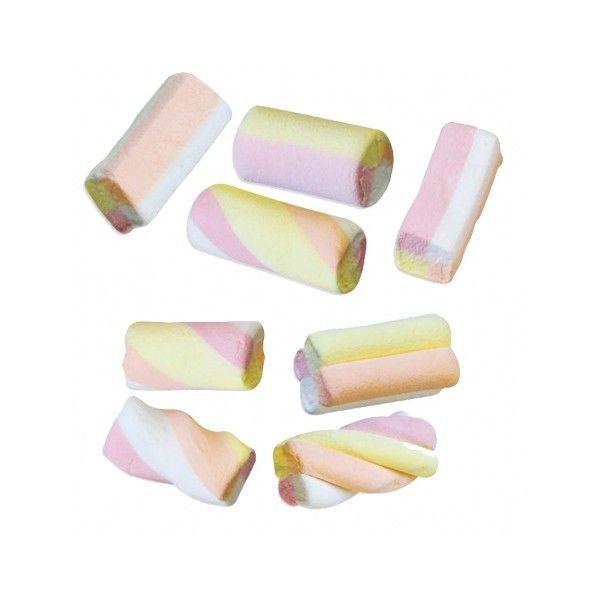 Marshmallow Mallow Mix - Bonbon Foliz : bonbons, caramel, chocolat ... ❤ liked on Polyvore
