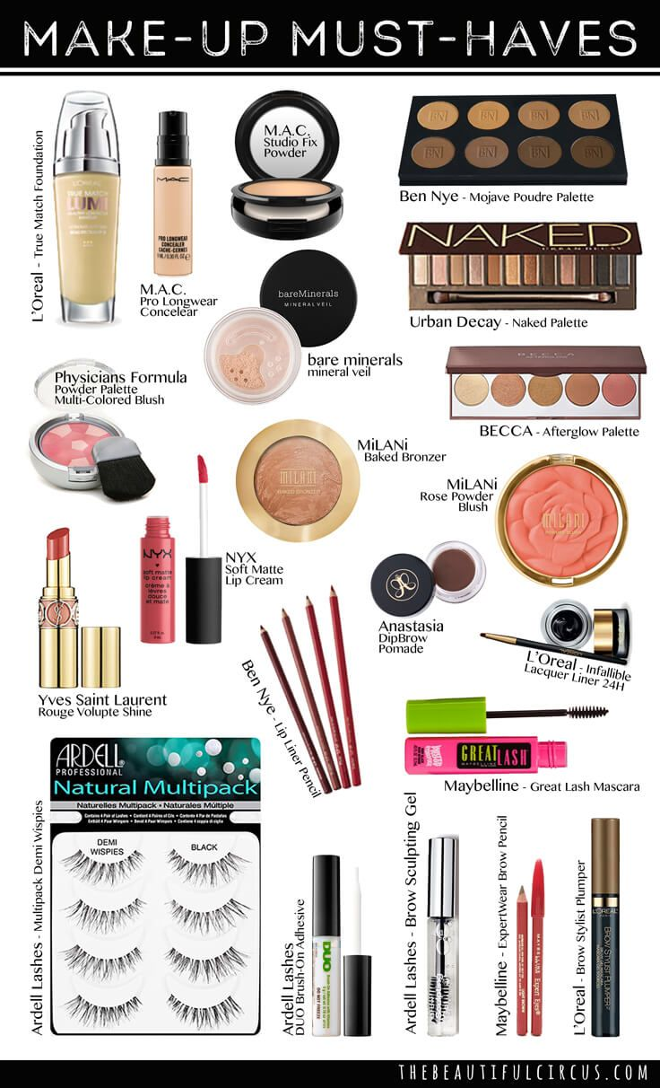 Must Have Makeup Products for Beginners
