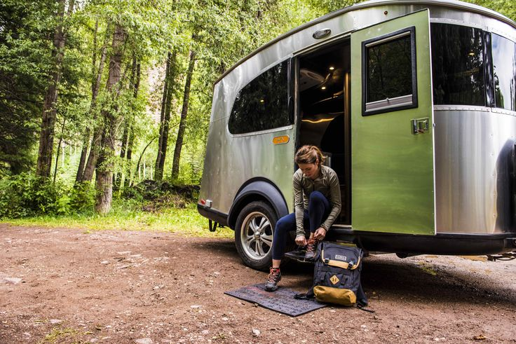 Airstream's Basecamp Is a Lightweight Trailer Stuffed With Smart Travel Solutions - Dwell #airstream #camper #mobilehome