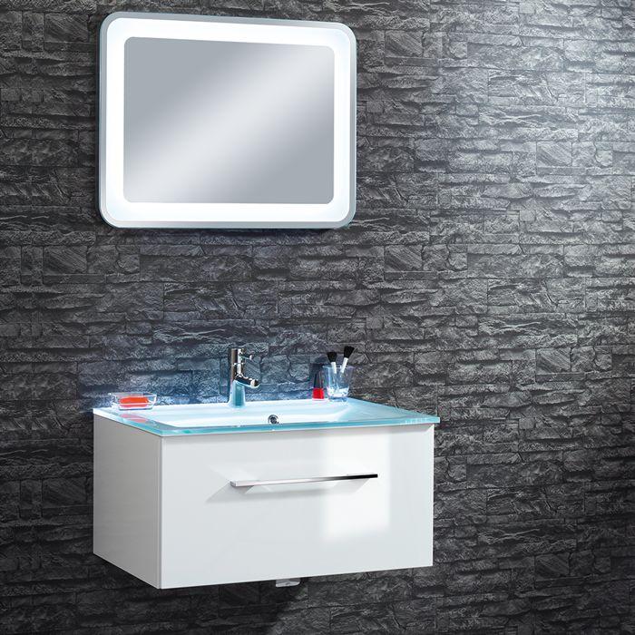 Der Waschtischunterschrank Stella Von Riva Setzt Mit Seiner Modernen,  Eckigen Form In Jeder Badezimmereinrichtung Besondere