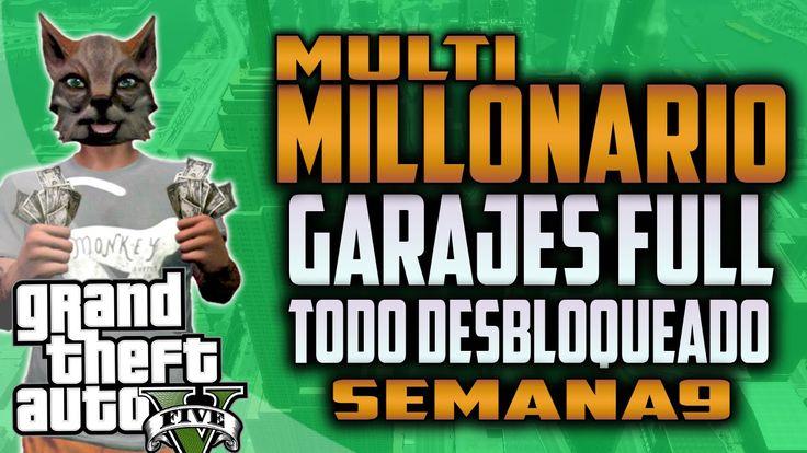 GTA 5 ONLINE 1.24/1.25 - DINERO Y RP INFINITO GTA ONLINE - CONCURSO MULT...