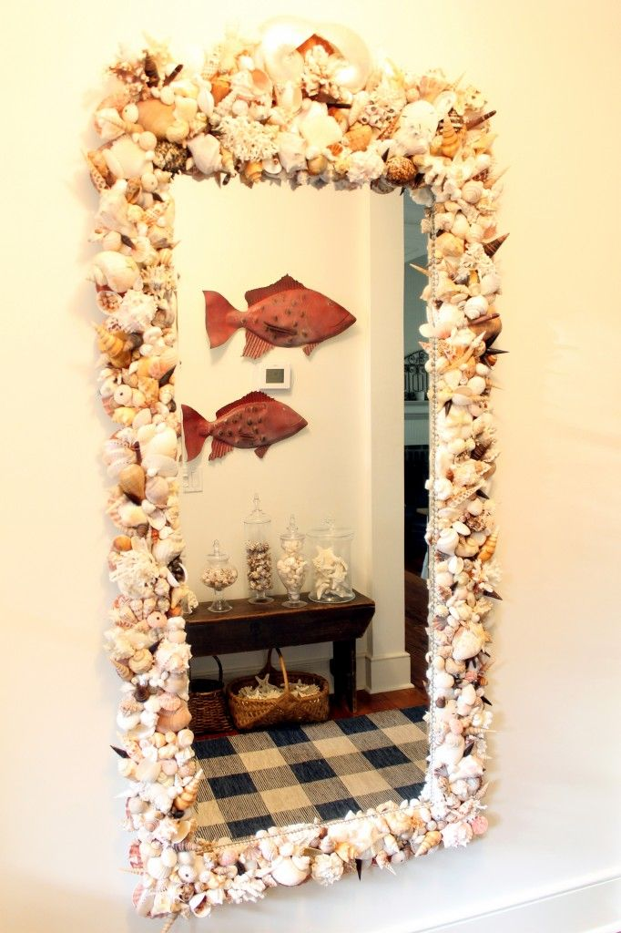 17 images about shell creations on pinterest bathrooms for Types of mirrors around the house
