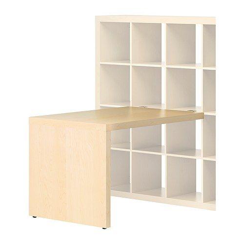 EXPEDIT Desk - birch effect - IKEA