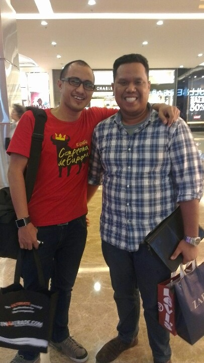 Ammar satria, old friend came from batam...