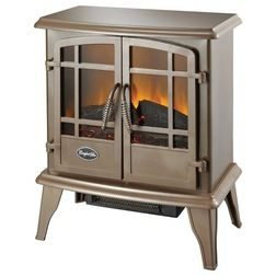 Traditional Fireplaces by HPP Enterprises Comfort Glow Keystone Electric Stove, Bronze $120.99 $145.40 · More Colors This old-fashioned electric stove provides heat and doesn't require a flue.