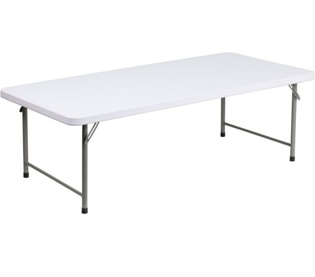 Ff Kid S Plastic Folding Table White 30 X 60 Kids Folding Table Flash Furniture Kids Table And Chairs