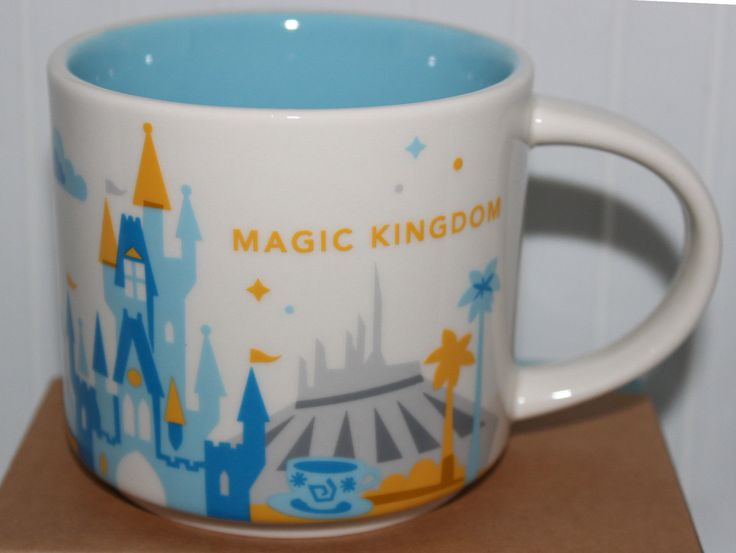 Magic Kingdom Starbucks You Are Here Collection Coffee Mug
