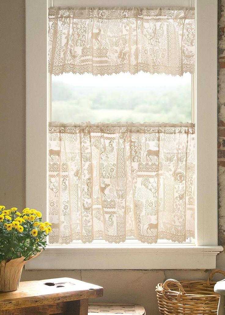 Woodland Patch Valance Heritage Lace Window valance