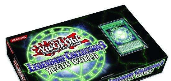 novidade YuGiOh! aproveita já a nossa promoção. Oferta de 1 booster na pré venda da Legendary collection.