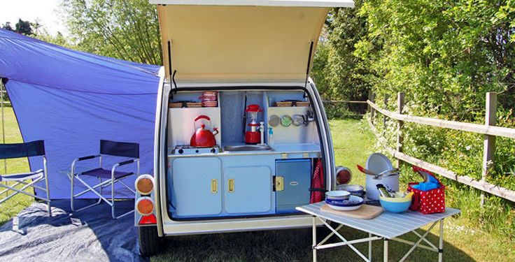 Teadrop Trailer.. I fancy a spot of glamping!