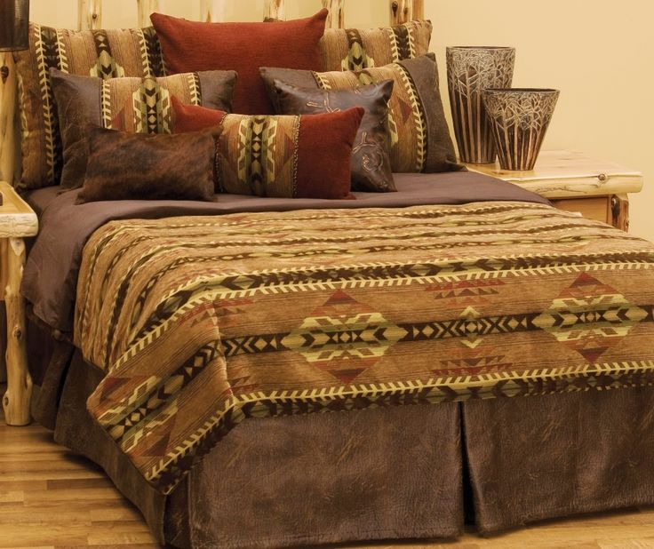 stampede basic or deluxe southwest bedding ensemble set wd23610 the stampede
