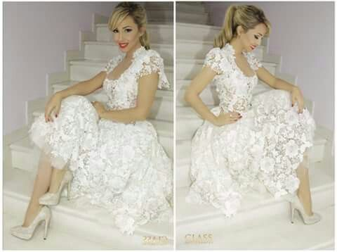 Such a beautiful white uncasual dresss ..i m in love with this one. What do u think?
