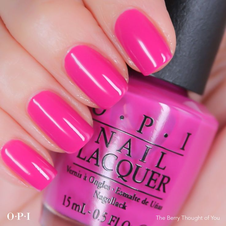 The Berry Thought of You | OPI Brights Collection 2015 | OPI UK | A beautiful purple/berry shade perfect for the summer.