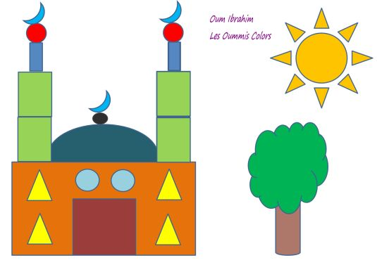 atrimath,mosque,mosquée,craft,muslim,kids