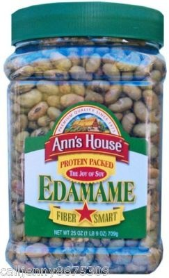 What are some recipes that contain edamame beans?