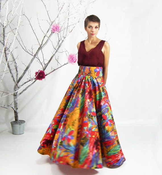 floral high waisted skirt floral maxi skirt long skirt plus size skirt high от 901