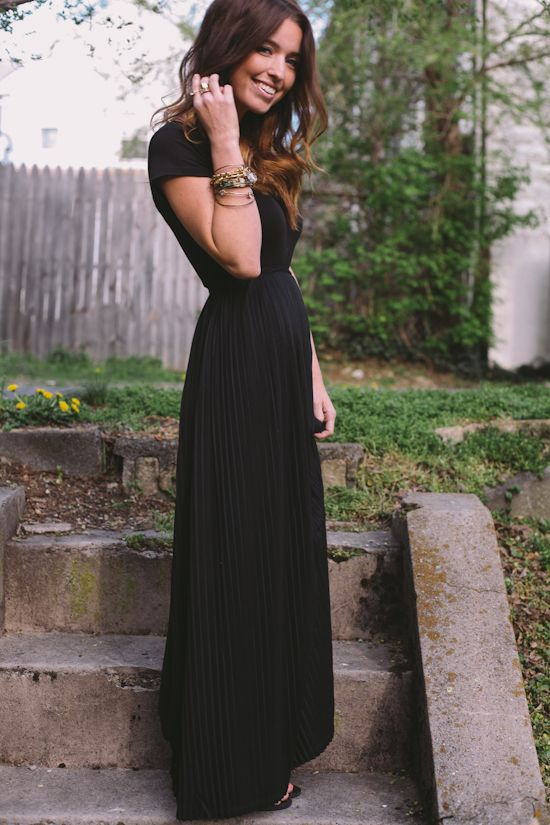 beautiful maxi - it's actually maternity from target!