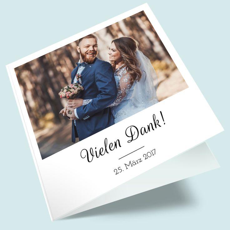 """Hochzeit-Dankeskarte """"Die Chemie stimmt"""" selbst gestalten & bestellen"""