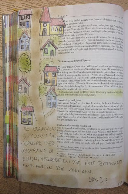 Conni's Bibel: Lukas 9 Aussendung der zwölf Apostel