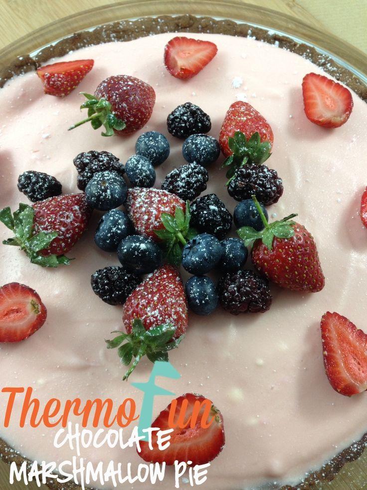 Wicked Wednesday - Chocolate Marshmallow Pie Recipe | ThermoFun | Thermomix Recipes & Tips