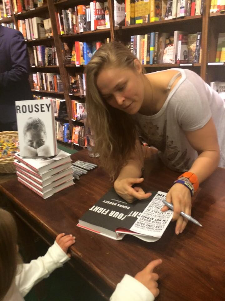 Ronda Rousey and childhood apraxia of speech