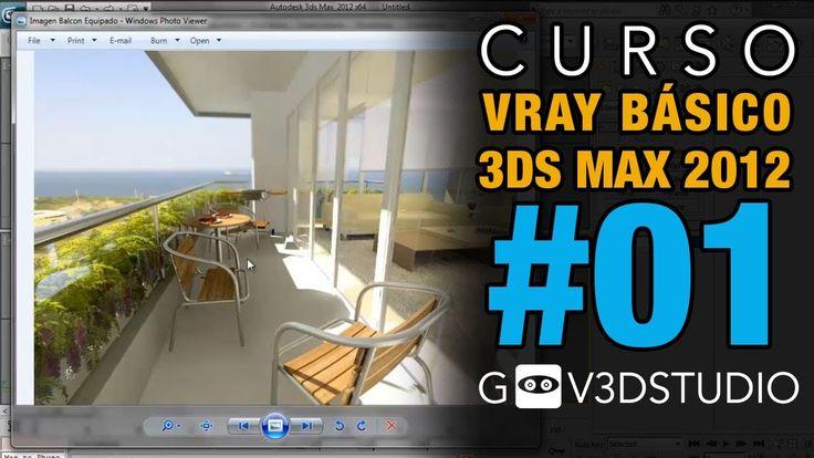 3ds Max + Vray Introductorio -01- Asignación de motor de render.