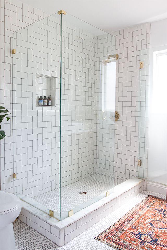 Badezimmer, Einrichtung, Bilder, Deko, Badezimmer Duschen, Master Badezimmer,  Weiß Master Bad, Master Bad Fliese, Badezimmer Im Erdgeschoss