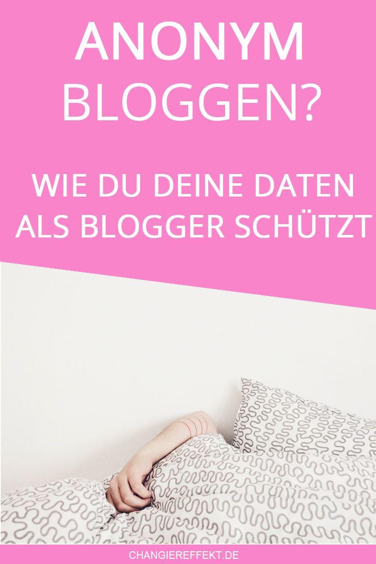 Anonym bloggen ist ein Wunsch vieler Blogger. Warum das in Deutschland schwierig ist und wie du deine Daten trotzdem ein bisschen schützen kannst, erkläre ich dir. Blog Tipps.