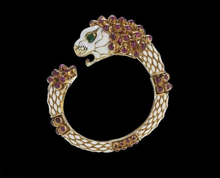 Buy online, view images and see past prices for David Webb Diamond and Ruby Snake Bracelet. Invaluable is the world's largest marketplace for art, antiques, and collectibles.
