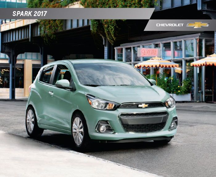 Download the 2017 Chevy Spark electronic brochure for performance details and vehicle options. #ChevySpark
