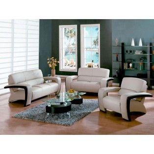 Sydney Leather Sofa Love Seat And Chair Set W Espresso