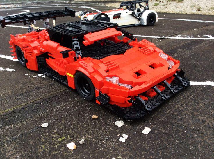 Ferrari 458 and Caterham lego projects