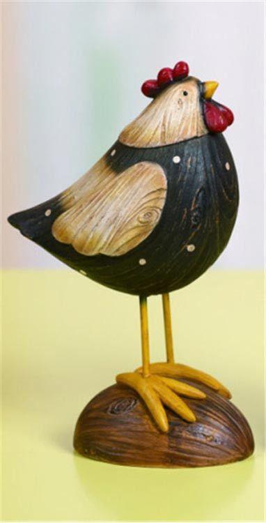 Medium Rustic Rooster