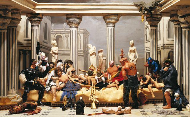 Norton Maza | La Junta de la Decadencia, Estudio para la Sinfonía del Poder Eterno (2009) | Artsy