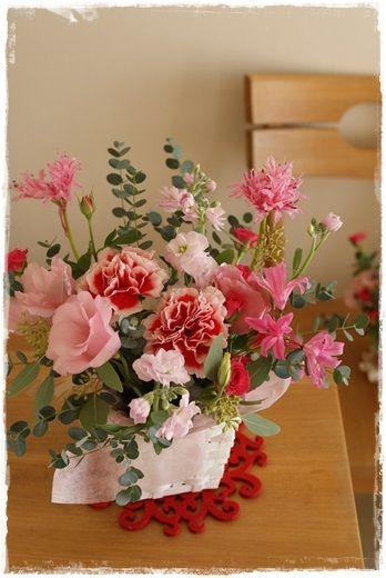 【今日の贈花】小さめサイズが可愛い http://ameblo.jp/flower-note/entry-11743187552.html