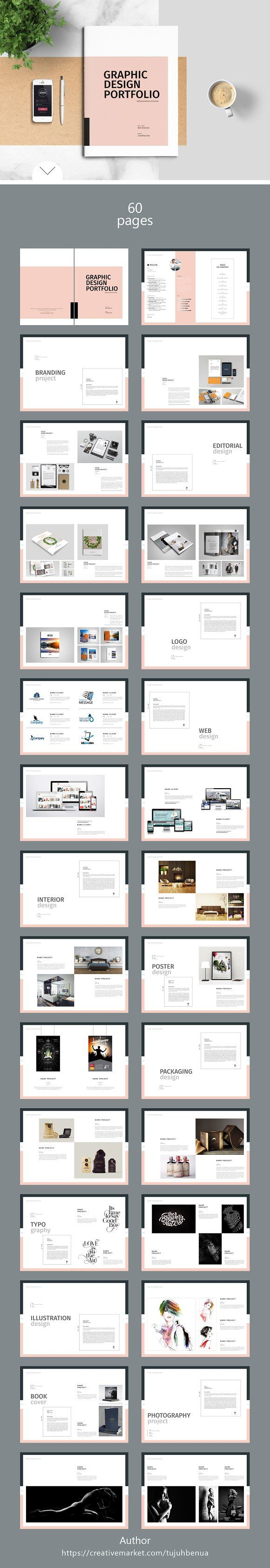 Best 25 brochure templates free download ideas on for Graphic designer portfolio template free download