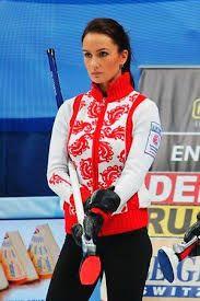 Anna Sidorova, russian curling athlete 17
