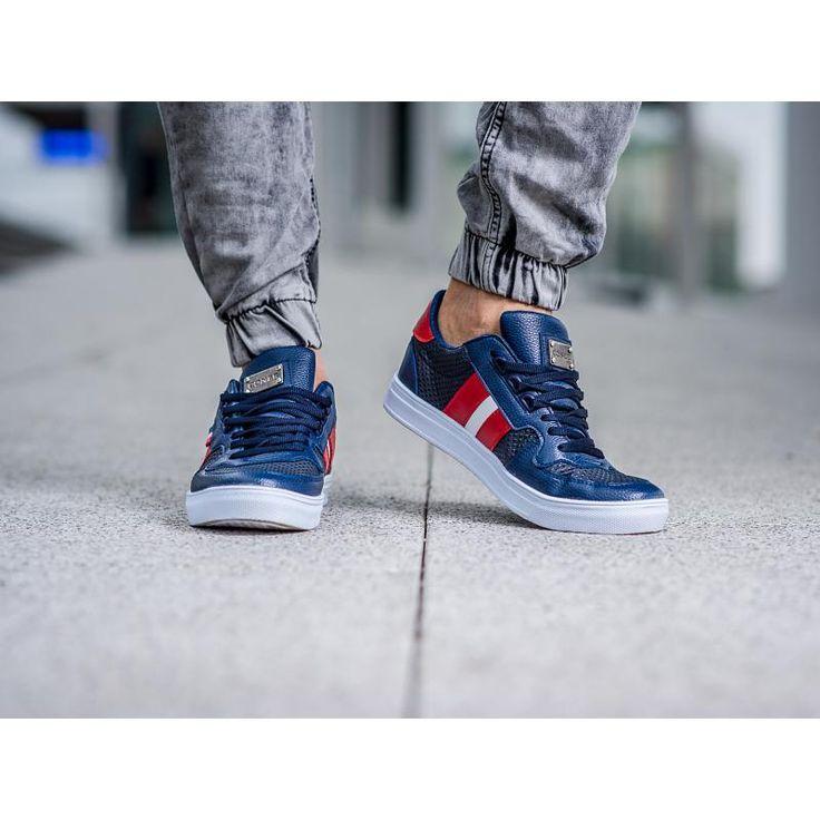 Pánske štýlové topánky modré | manSTYLE.sk