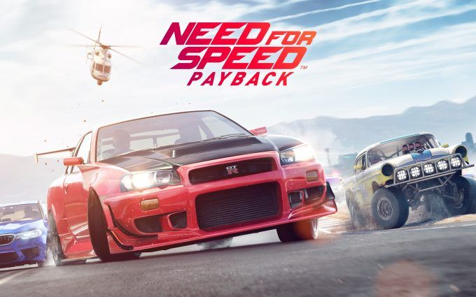 Need for Speed Payback 4K Wallpaper
