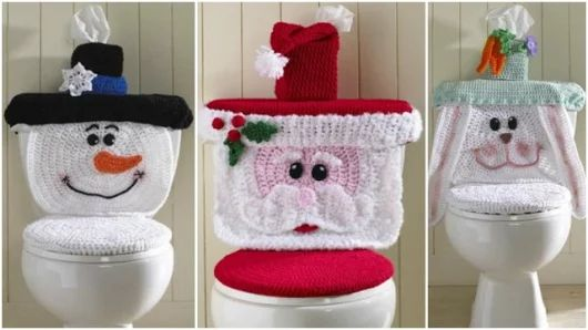 Cute Crochet Toilet Seat Covers | How To Instructions