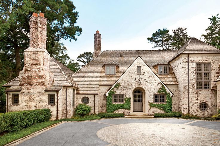 """Remake History - New House Gets a 19th-Century Makeover - Southernliving. When it comes to designing houses, architect Peter Block tries to avoid strict stylistic definitions. """"First we go for feel,"""" he says. """"Style finds its way."""" Case in point is the new home of Marcia and Mark Miller, located on a rare expansive lot in Atlanta's Buckhead area. For its design, Peter looked to the English Country houses of the late 19th and early 20th centuries. """"The roofline, beams, small-paned windows…"""