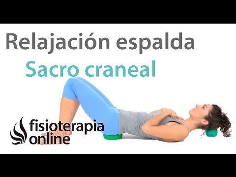 Ejercicio de relajación sacro-craneal, cuello y espalda con pelotas | Fisioterapia Online