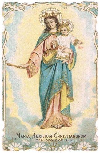 Virgen María Auxiliadora, oración para peticiones urgentes
