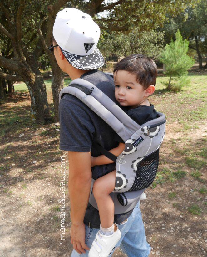 porte bebe physiologique pour les touts petits mais aussi les plus grands le bienfait du