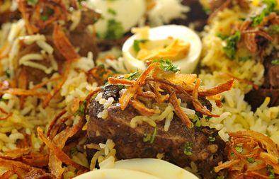 LEBANESE RECIPES: Beryani with lamb recipe
