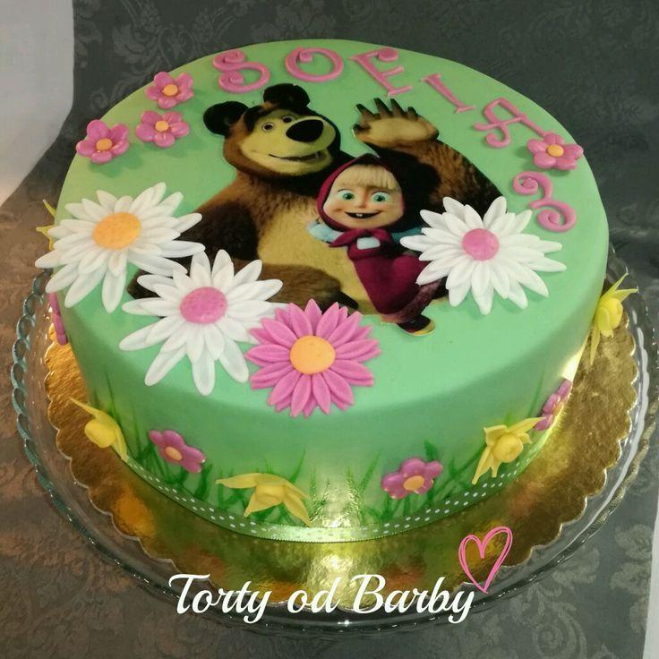 Cake masha and bear ,  torta Masa a medved