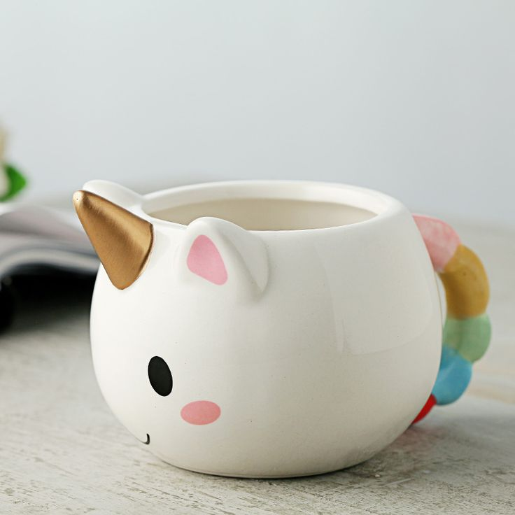 Unicorn 3D Ceramic Mug – Cool Shop