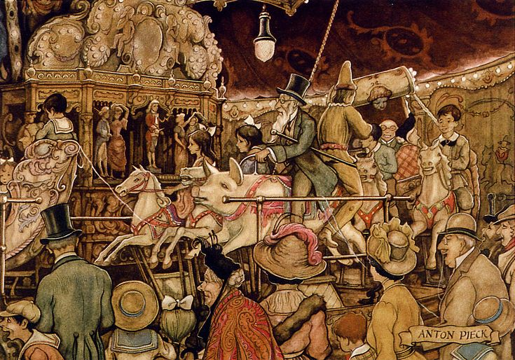 Steam Carousel - Tales of the Efteling by Martine Bijl and Anton Pieck